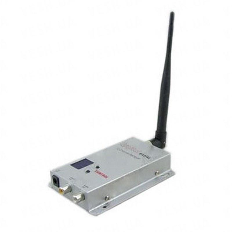 12-ти канальный приёмник беспроводных камер видеонаблюдения стандарта 1.2 Ghz (модель RX-1212)