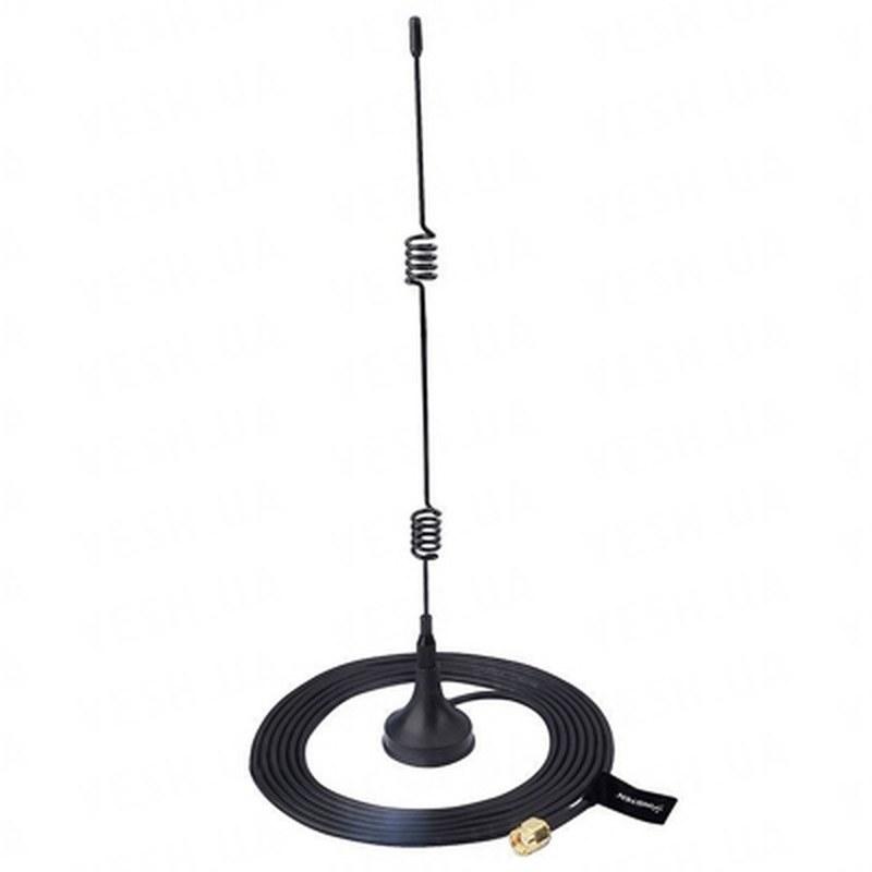 Всенаправленная антенна 2.4 Ghz c усилением 7 Db на магните с кабелем длиной 3 метра (модель RP-SMA)