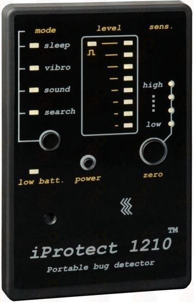 Компактный индикатор поля (детектор жучков и видеокамер)  PROTECT 1210