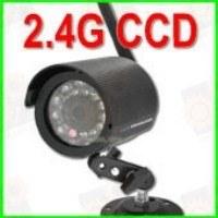 Отдельная беспроводная CCD уличная Wi Fi радио видеокамера ночного виденья 2.4 Ghz и 420 TVL
