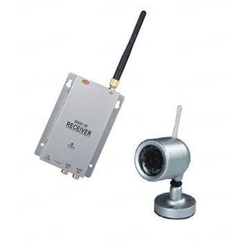 Комплект из беспроводной аналоговой уличной камеры WN-7 на 2.4 Ghz + приёмник видеосигнала (на выбор), дальностью до 250 метров (модель WN-7 kit)