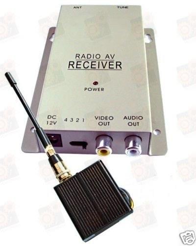 1 W четырехканальный усилитель мощности (передатчик) видео сигнала для видеокамер 1.2 Ghz (ТХ 1000 А)