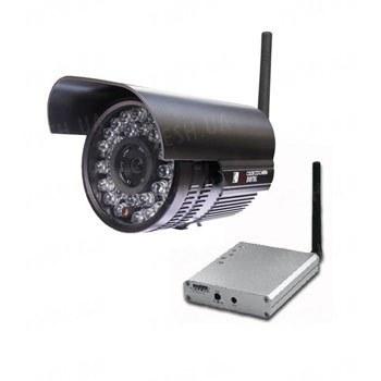 Мощный 1 W комплект беспроводного видеонаблюдения 2.4 Ghz с дальностью передачи до 1 км и ИК подсветкой для ночной съемки до 30 метров (модель 928F)