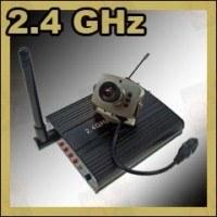 Набор беспроводная цифровая Wi-Fi МИНИ радио видеокамера 2.4 Ghz + приёмник видеосигнала с AV выходом