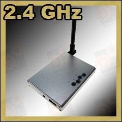 Приёмник сигналов беспроводных радио видеокамер 2.4 Ghz с A/V и USB выходом (модель WR-703 )