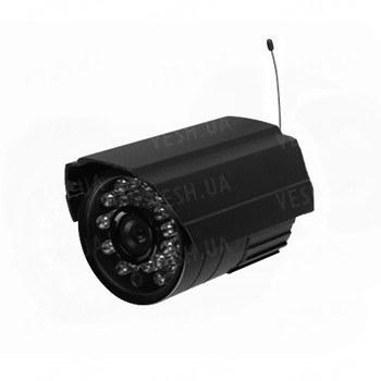 Аналоговая беспроводная уличная камера на 2.4 Ghz, CMOS, 600 TVL, дальностью до 250 метров (модель LICE24-W)