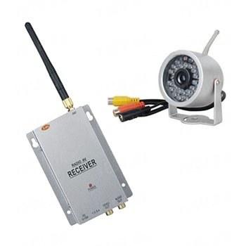 Комплект из беспроводной аналоговой уличной камеры WN-15 на 2.4 Ghz + приёмник видеосигнала (на выбор), дальностью до 700 метров (модель WN-15 kit)