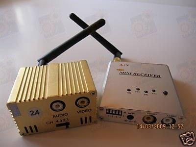 3 W четырехканальный усилитель мощности (передатчик) видео сигнала для видеокамер 2.4 Ghz (ТХ 3000 D)