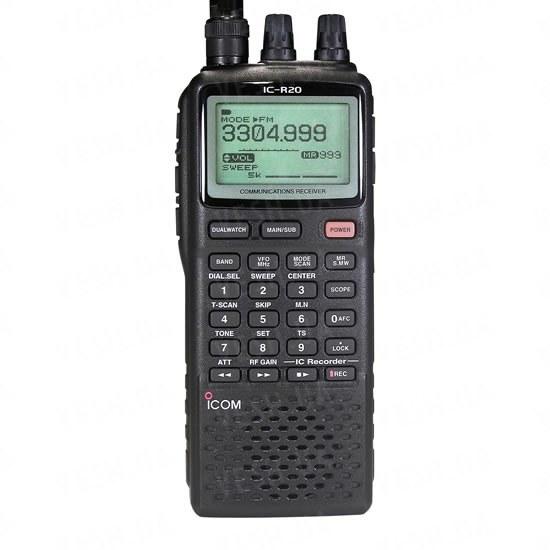 IC-R20 [двухканальный сканирующий приемник]