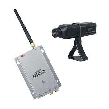 Комплект из беспроводной автономной камеры c аккумулятором С-201 на 2.4 Ghz + приёмник видеосигнала (на выбор), дальностью до 250 метров (модель CRP-201 kit)