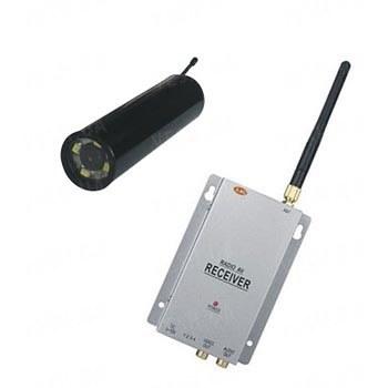 Комплект из беспроводной инспекционной камеры WE800A на 2.4 Ghz + приёмник видеосигнала (на выбор), дальностью до 250 метров (модель CRP-800 kit)