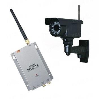 Комплект из беспроводной уличной камеры LIE30 на 2.4 Ghz + приёмник видеосигнала (на выбор), дальностью до 700 метров (модель LIE30W kit)