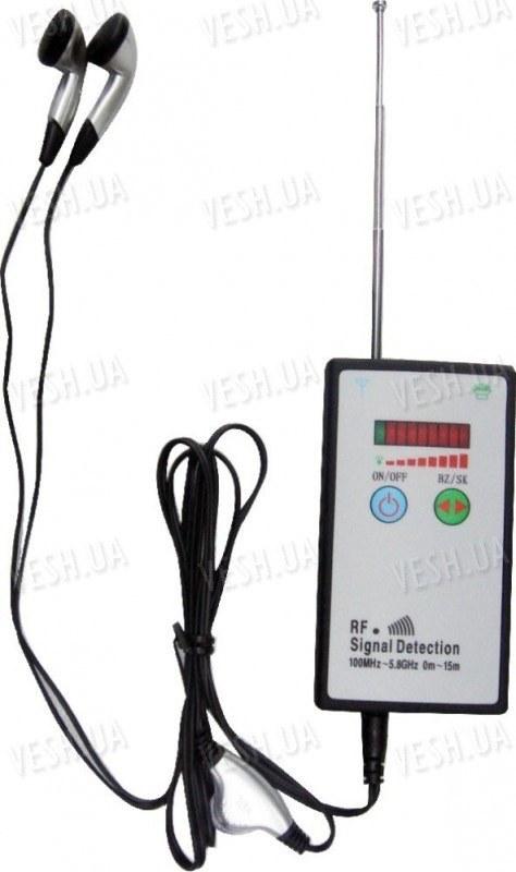 Портативный детектор поля для поиска беспроводных радио жучков и камер EST-101D