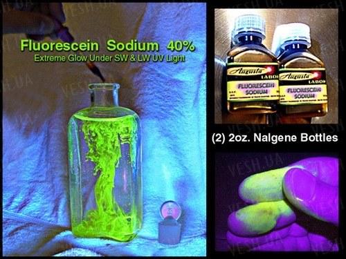 Флуоресцеин натрия УФ ультрафиолетовая краска трайсер - 60мл