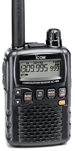 Портативный сканирующий приёмник, радиоприёмник, радиосканер Icom IC R5