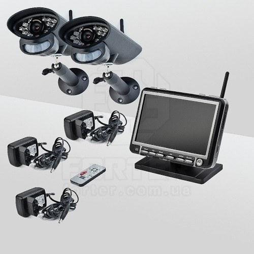 Комплект беспроводного видеонаблюдения Smartwave WDK-S01х2 KIT