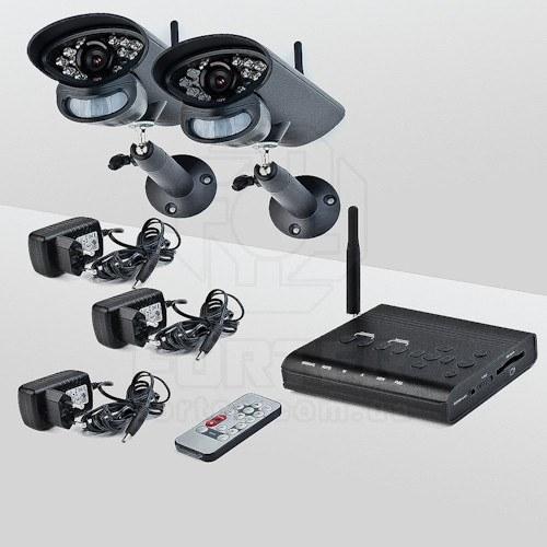 Комплект беспроводного видеонаблюдения Smartwave WDK-S02x2 KIT