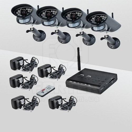 Комплект беспроводного видеонаблюдения Smartwave WDK-S02x4 KIT