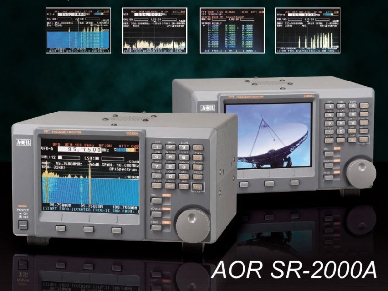 Сканирующий приемник SR-2000A