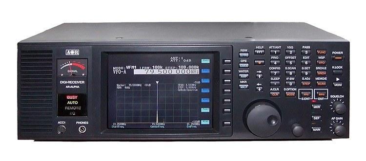 Сканирующий приемник AR-ALPHA с непрерывным диапазоном частот от 10кГц до 3.3ГГц