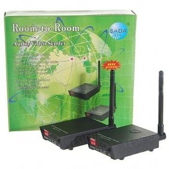 4-х канальный 500 mW комплект беспроводной передачи видео на частоте 2.4 Ghz на расстояние до 400 метров (модель BADA СХ-500 A)