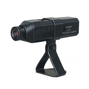 4-х канальная 2.4 Ghz беспроводная камера наблюдения, дальностью передачи до 250 метров, аккумулятором на 4 часа работы, 380 TVL, угол обзора 62 градуса (мод. С-201)