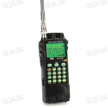 Портативный сканирующий приемник, радиоприёмник, радиосканер AOR AR8200 Mk3