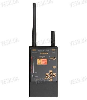 Портативный индикатор поля для поиска аналоговых и цифровых жучков PROTECT 1206i