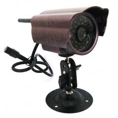 Аналоговая 420 TVL беспроводная уличная камера ночного виденья 2.4 Ghz с 24 ИК светодиодами, дальностью до 700 метров (модель CRK-58)