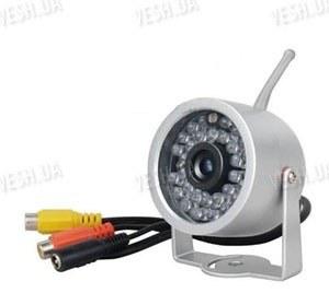 Отдельная цифровая беспроводная влагозащитная Wi Fi радио видеокамера 2.4 Ghz с 30 ИК светодиодами подсветки (модель WN-30)