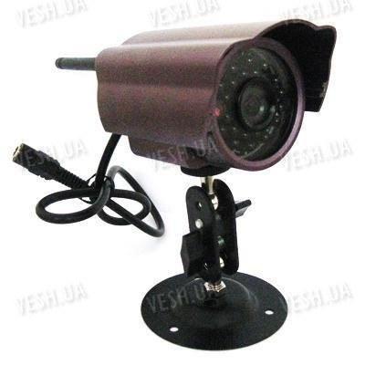 Отдельная цифровая 420 TVL беспроводная уличная Wi Fi радио видеокамера ночного виденья 2.4 Ghz с 24 ИК светодиодами (модель CRK-58)