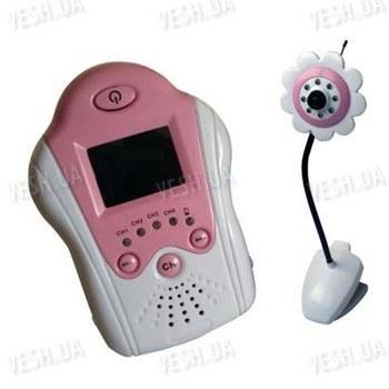 Цифровая беспроводная ВИДЕОНЯНЯ - бюджетный комплект беспроводного наблюдения за ребёнком с 1,5 дюймовым LCD приёмником