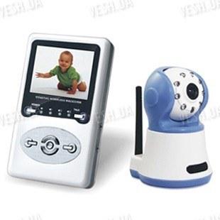 Цифровая беспроводная ВИДЕОНЯНЯ - комплект беспроводного наблюдения за ребёнком с LCD приёмником (модель VN-320R)