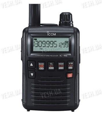 Портативный сканирующий приёмник, радиоприёмник, радиосканер Icom IC R6