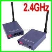 4-х канальный 2W комплект беспроводной передачи видео на частоте 2.4 Ghz на расстояние до 1500 метров (модель СХ 2000 А)