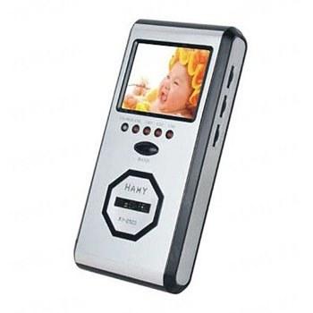 4-х канальный приёмник - монитор с 2.5 дюймовым LCD экраном для приёма видеосигнала от беспроводных видеокамер стандарта 2.4 Ghz без возможности записи (мод. KY-2503)