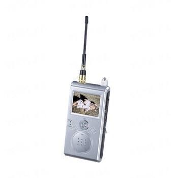 Приёмник - монитор DVR для приёма видеосигнала от беспроводных камер стандарта 1.2 Ghz с возможностью записи на SD карту памяти до 8 Gb c поддержкой русского языка (мод. KY-2502DVR)