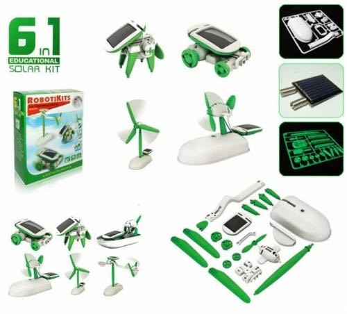 Игрушка-конструктор на солнечной батареи