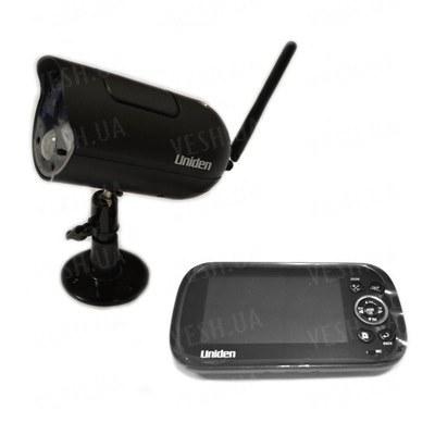 Цифровой комплект беспроводного наблюдения с шифрованием сигнала с 4.3 дюймовым приёмником-монитором с записью и дальностью до 200 метров (модель DANROU 8141)