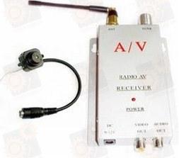 Миниатюрная беспроводная радио-видеокамера (под заказ с любыми характеристиками)