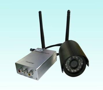 Комплект беспроводного видео 300mW 5.8GHz с 24-LED IR Kit камерой