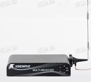 4-х канальный приемник видеосигнала беспроводных камер 2.4 Ghz c одновременным приёмом (модель KINGWAVE KW3983)