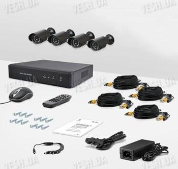 Комплект видеонаблюдения CnM Secure DCK-1004H KIT