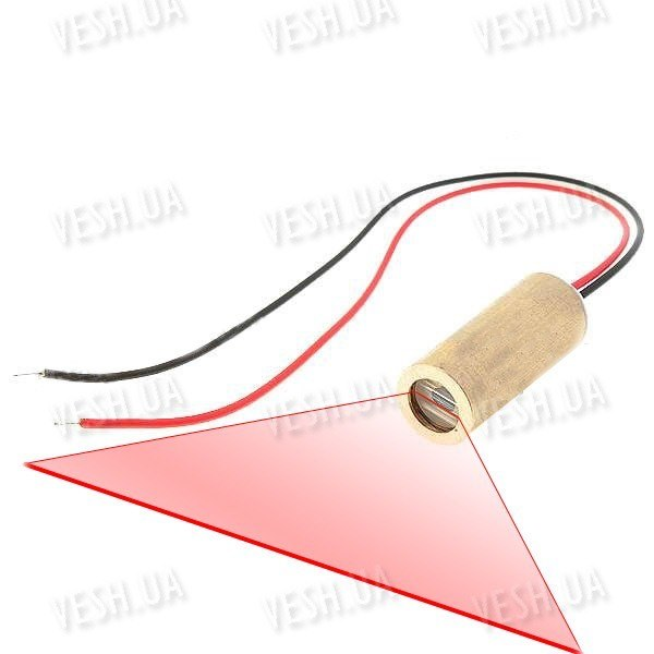 Лазерный модуль (линия) 2-5мВт