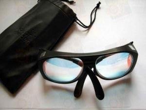 Очки защитные стеклофильтры 808нм