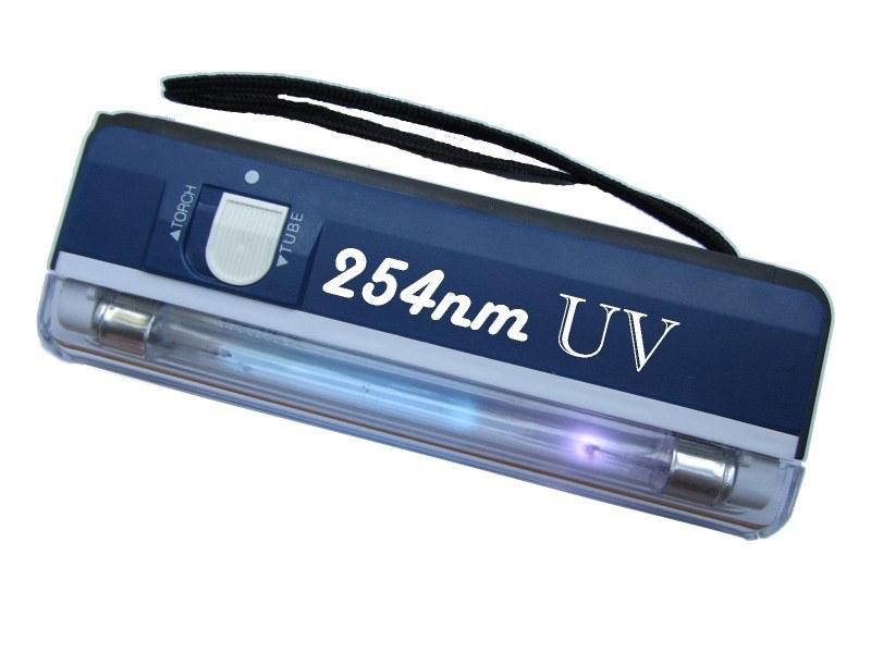 Лампа ультрафиолетовая детектор валют UV 254nm (УФ 254нм)