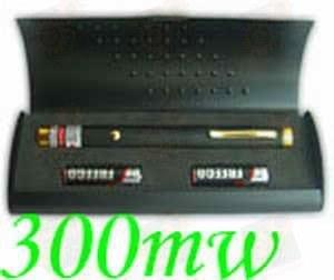 Зеленая лазерная указка 300мВт