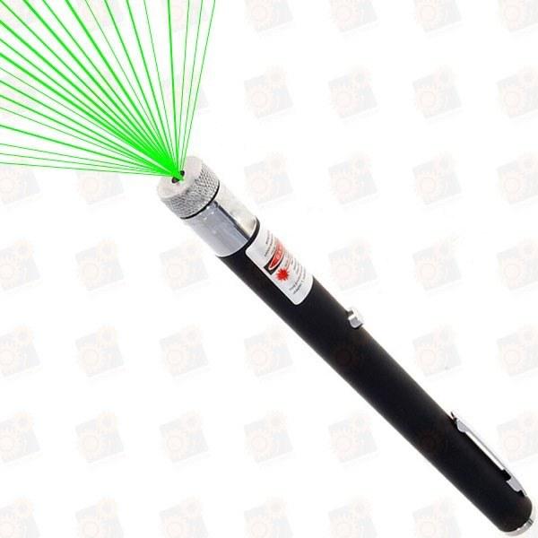 Зеленая лазерная указка 30мВт - Звездное небо