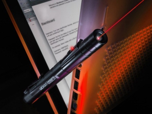 Зеленая лазерная указка Wicked Lasers E2 Evolution Series 75мВт