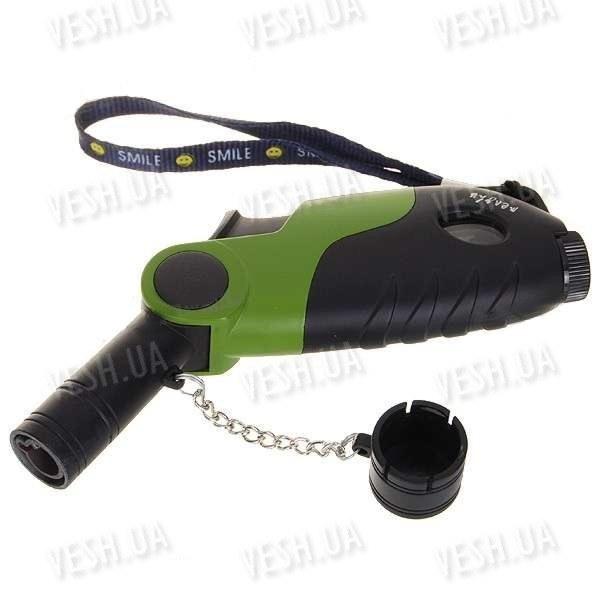 Ветрозащищенная газовая горелка/зажигалка с креплением